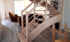 Création d'un escalier sur mesure
