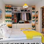 Dressing dans une petite chambre